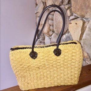 ONE DAY SALE 🌺 EXPRESS WOVEN BAG